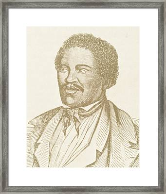 Henry Box Brown, African-american Framed Print by Photo Researchers