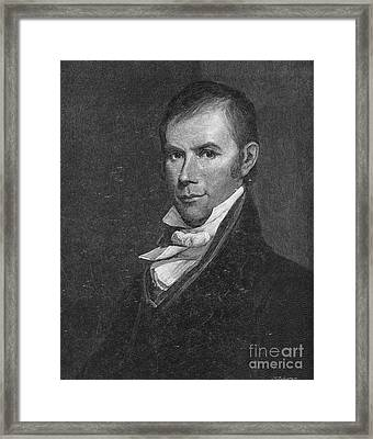 Henry Clay (1777-1852) Framed Print