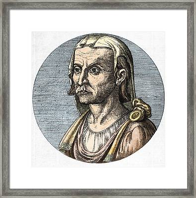 Hippocrates, Greek Physician Framed Print