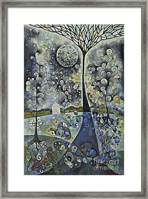 House Of The Moon Framed Print by manami Yagashiro