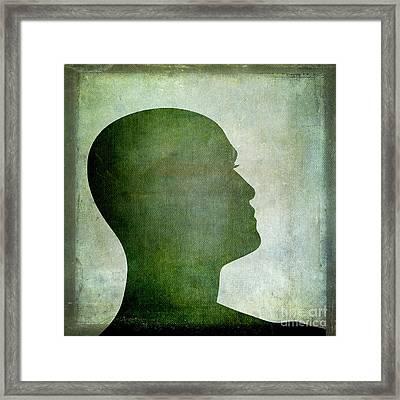 Human Representation Framed Print by Bernard Jaubert
