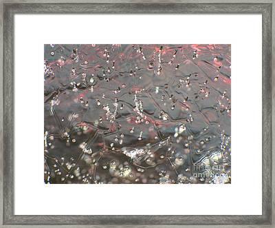 Ice Framed Print by Odon Czintos