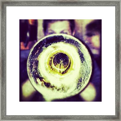 Image Created With #snapseed Framed Print