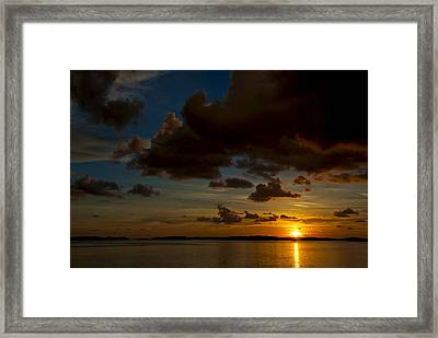 Islamorada Sunset Framed Print by Mike Horvath