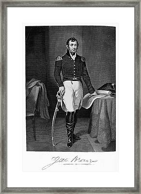 Jacob Jennings Brown Framed Print by Granger