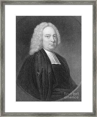 James Bradley, English Astronomer Framed Print