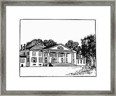James Madison: Montpelier Framed Print by Granger