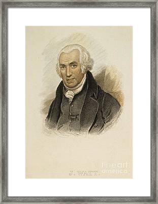 James Watt (1736-1819) Framed Print by Granger