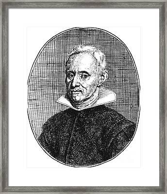 Jan Baptist Van Helmont, Flemish Framed Print by Science Source