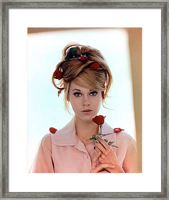 Jane Fonda, 1960s Framed Print by Everett