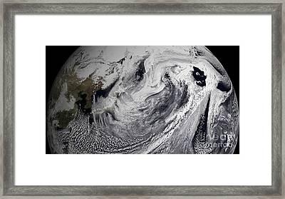 January 2, 2009 - Cloud Simulation Framed Print