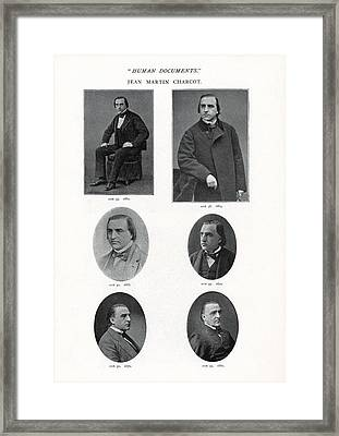 Jean-martin Charcot, French Neurologist Framed Print by Humanities & Social Sciences Librarynew York Public Library