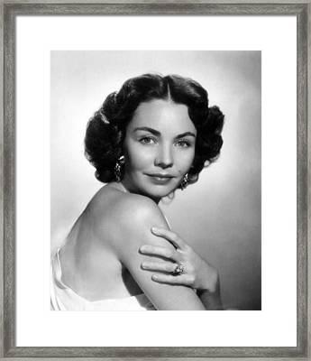 Jennifer Jones, Portrait Framed Print by Everett