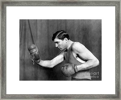 Jess Willard (1883-1968) Framed Print by Granger