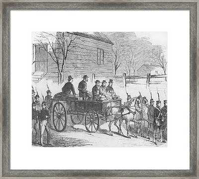 John Brown, American Abolitionist Framed Print by Photo Researchers