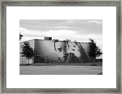 Johnny Cash Framed Print by Rob Hans