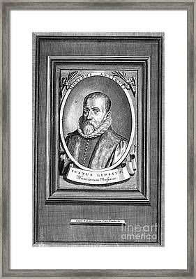Justus Lipsius (1547-1606) Framed Print by Granger