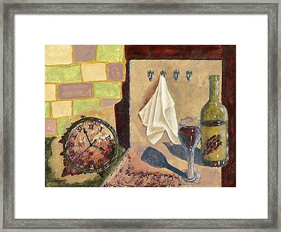 Kitchen Collage Framed Print