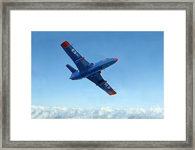 L-29 Delfin Standard Jet Trainer Framed Print by Daniel Karlsson