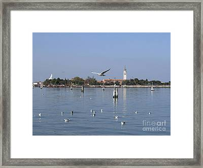 Lagoon. Venice Framed Print