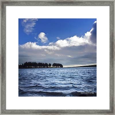 Lake In Auvergne Framed Print by Bernard Jaubert