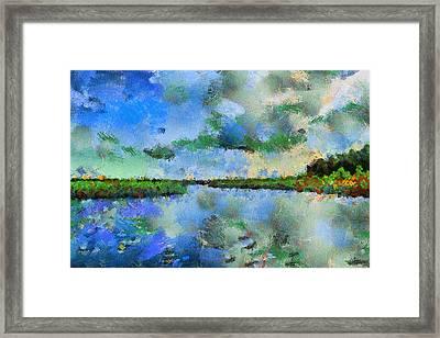 Lake View Framed Print by Yury Malkov