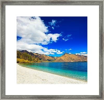 Lake Wakatipu Framed Print by MotHaiBaPhoto Prints