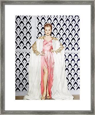 Lana Turner, Ca. 1940s Framed Print by Everett