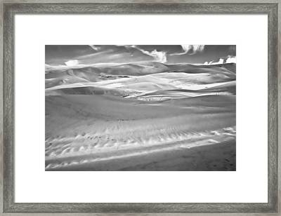 Land Meets Sky Framed Print