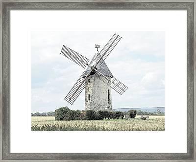Largny Mill Largny Sur Automne France Framed Print by Joseph Hendrix