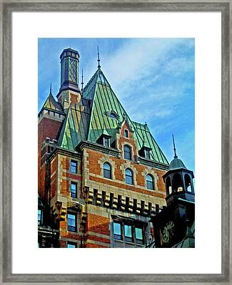 Le Chateau ... Framed Print by Juergen Weiss