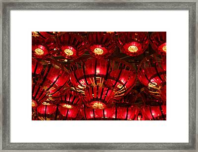 Lights Framed Print by Mike Stouffer