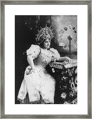Lillian Russell 1861-1922, American Framed Print by Everett