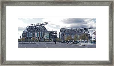 Lincoln Financial Field Framed Print by Jack Paolini