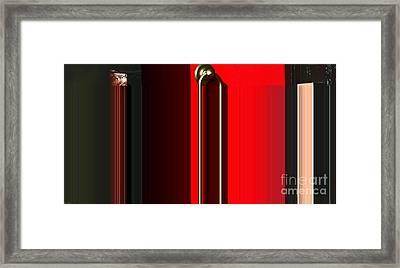 Liquid Door Framed Print by Ulrich Lange