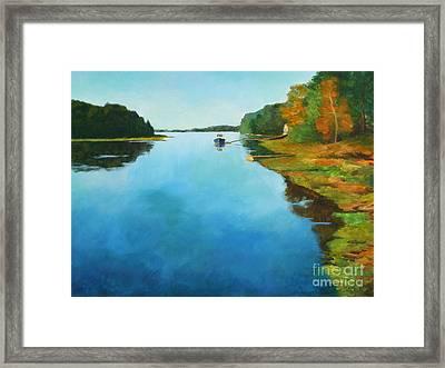 Little River Gloucester Framed Print