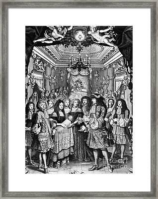 Louis, Dauphin Of France Framed Print by Granger
