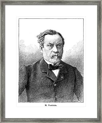 Louis Pasteur, French Microbiologist Framed Print by