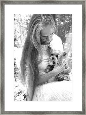 Love And Devotion Framed Print by Nancy Taylor