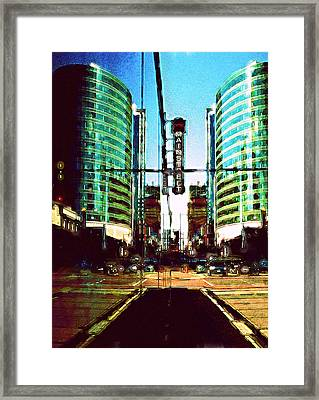 Main Street Framed Print by Laurie Douglas