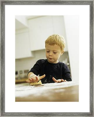 Making Biscuits Framed Print by Ian Boddy