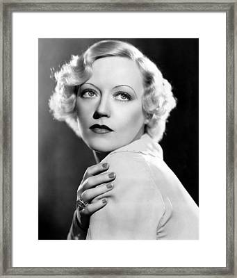 Marion Davies, 1935 Framed Print