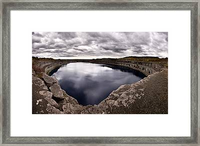 Marmora Mine Framed Print