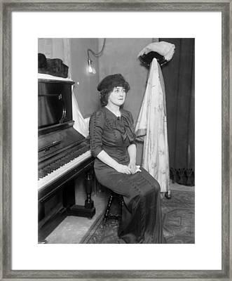 Mary Garden (1874-1967) Framed Print