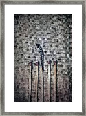 Matches Framed Print