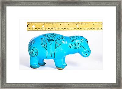 Measuring Length Framed Print