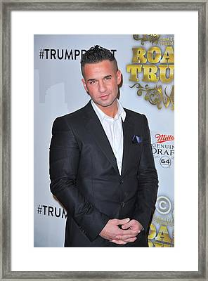 Michael The Situation Sorrentino Framed Print by Everett