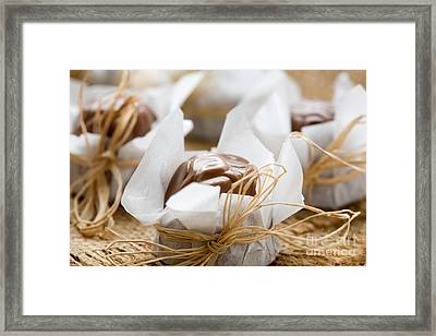 Milk Chocolate Framed Print by Kati Molin