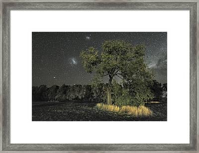 Milky Way Over Parkes Observatory Framed Print by Alex Cherney, Terrastro.com