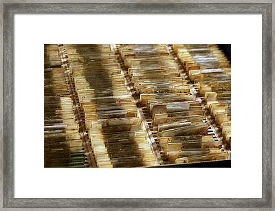 Mineralogical Collection Framed Print by Mauro Fermariello